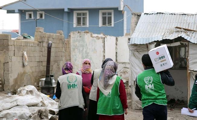 IHH Ağrı Ramazan'da Yaraları Sarıyor