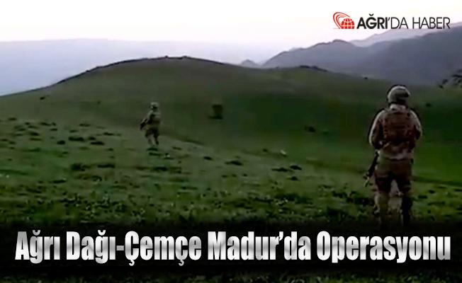 Eren-15 Ağrı Dağı Çemçe Madur operasyonu devam ediyor