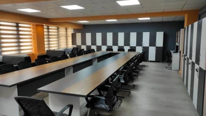 İl Milli Eğitim Müdürü Tekin yeni öğretmenler odasını yaptırdı