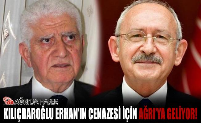 Kemal Kılıçdaroğlu Ağrı'ya Geliyor