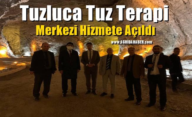 Tuzluca Tuz Terapi Merkezi Hizmete Açıldı