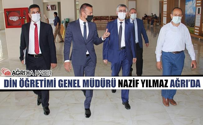 Din Öğretimi Genel Müdürü Dr. Nazif Yılmaz Ağrı'da İncelemelerde Bulundu!