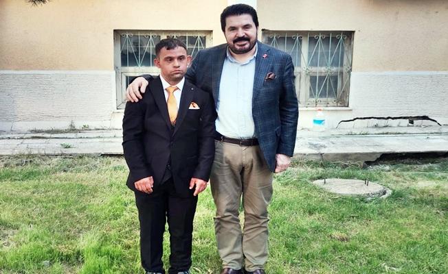Başkan Savcı Sayan, Cemalettin Aksakboğa'yı Sevindirdi