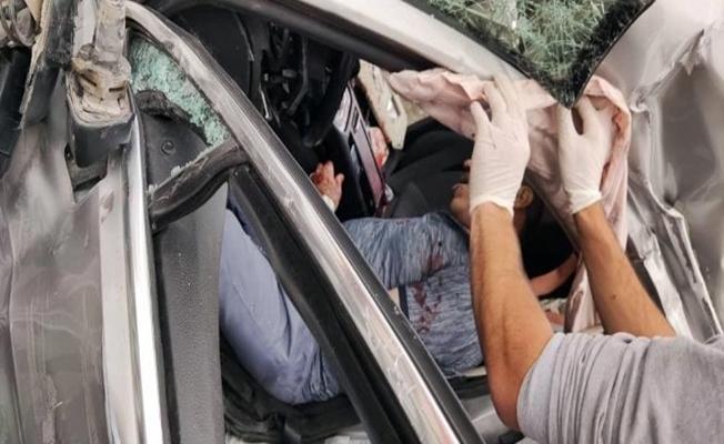 Doğubayazıt'ta trafik kazası: 1 ölü, 1 yaralı