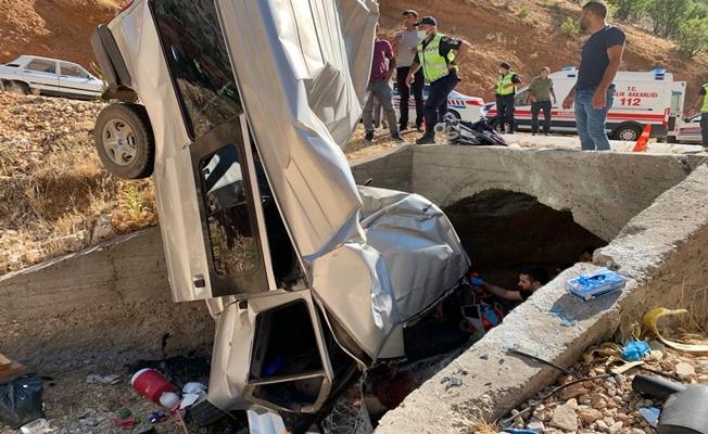 Minibüs Kaza Yaptı: 2 Ölü, 5 Yaralı!