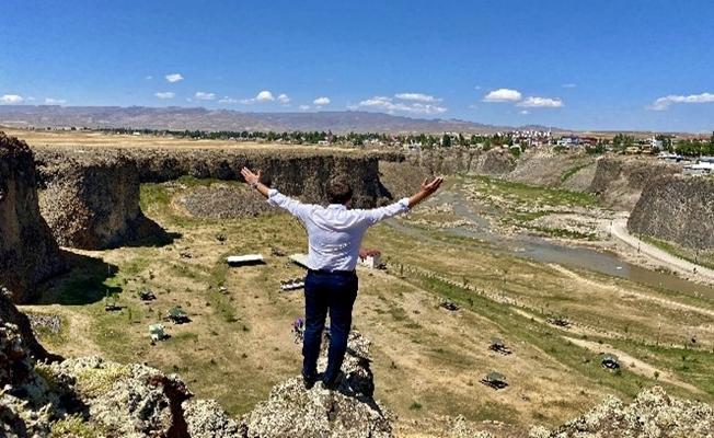 Murat Kanyonu ziyaretçilerin ilgi odağı oldu