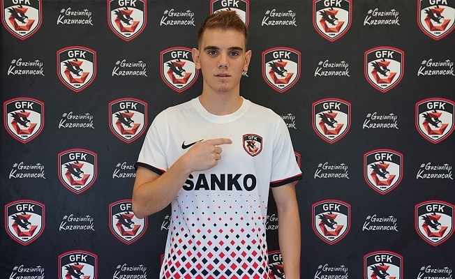 Berke Gürbüz Gaziantep 5 Yıllığına FK'da