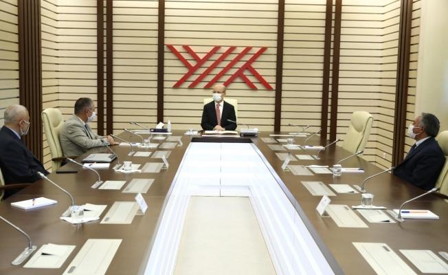 Rektör Karabulut'tan YÖK Başkanı Özvar'a hayırlı olsun ziyareti