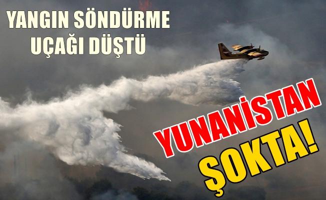 Söndürme Uçağı Düştü, Yunanistan Şokta!