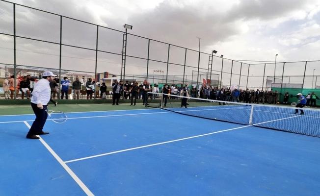 Ağrı Dağı Tenis Turnuvası başladı
