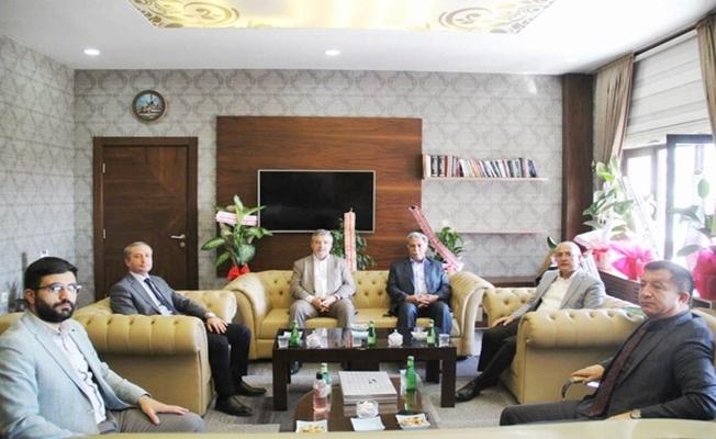 AK Parti Ağrı İl Başkanlığından Müdür Kökrek'e Ziyaret
