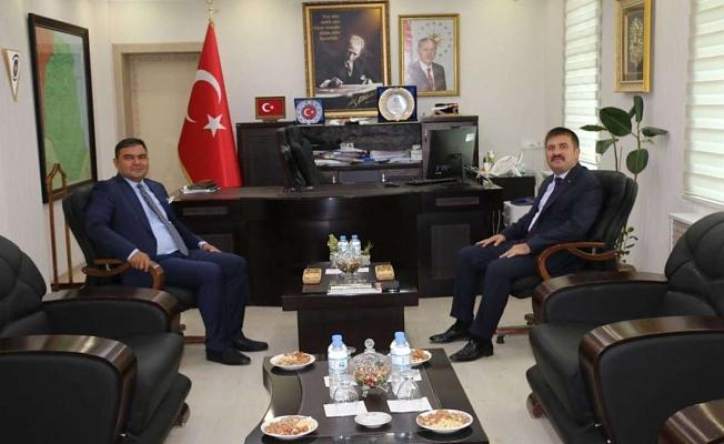 Vali Sarıibrahim'den Kaymakam Balcı'ya Ziyaret
