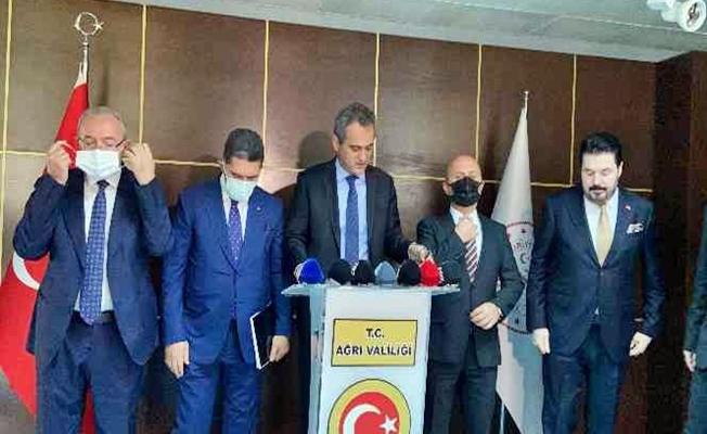 Bakanı Özer, Ağrı'ya yatırım müjdeleri verdi