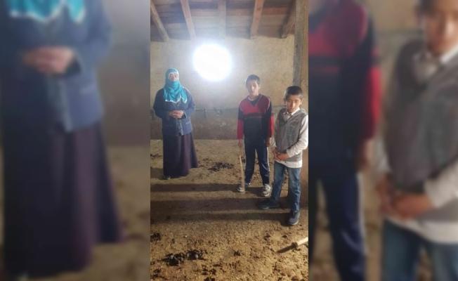 Eleşkirt'te ahıra giren hırsızlar 10 büyükbaş hayvanı çaldı