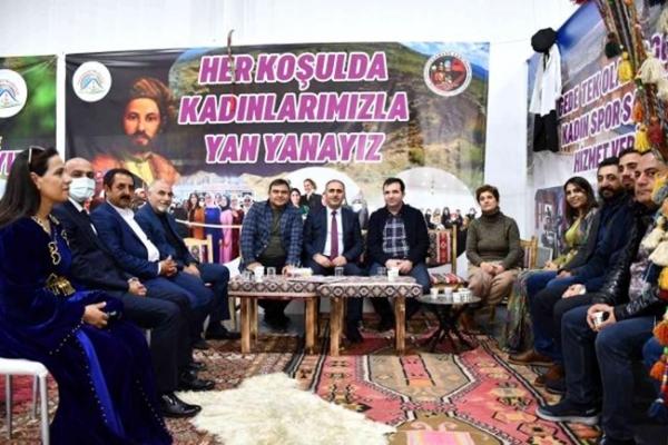 İstanbul'da Ağrı'lı komşu ilçeler bir araya geldi