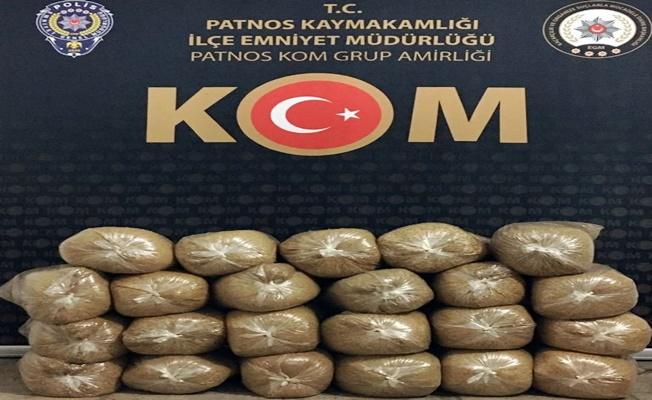 Patnos'ta Kaçak Tütün Operasyonu!