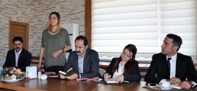 HDP Muş Milletvekili adayları basın mensuplarıyla buluştu
