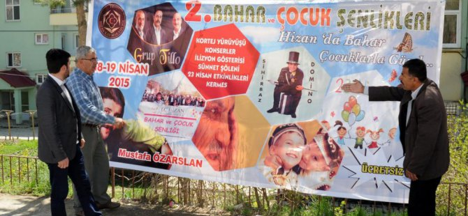Hizan'da '2. Geleneksel Bahar ve Çocuk Şenlikleri'