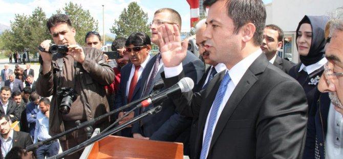 AK Partili milletvekili adayı memleketinde törenle karşılandı