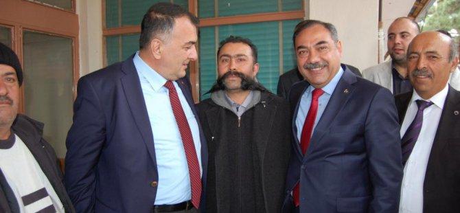 MHP Malatya milletvekili adayları Arapgir ilçesini ziyaret etti.