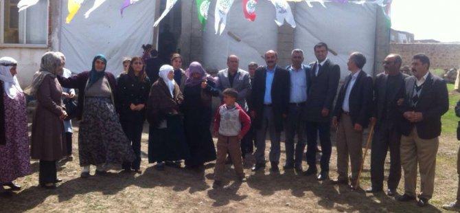 HDP Ağrı Milletvekili adayları çalışmalarına başladı