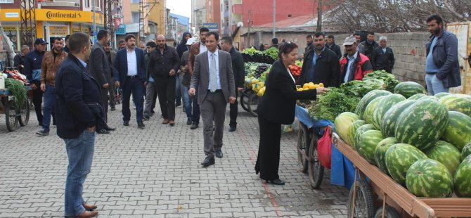 Ağrı'da 'Sebze Pazarı Projesi' hayata geçti