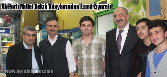Ak Parti Millet Vekili Adaylarından Esnaf Ziyareti
