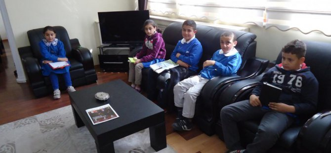 Öğrencilerden Başkan Çakır'a ziyaret