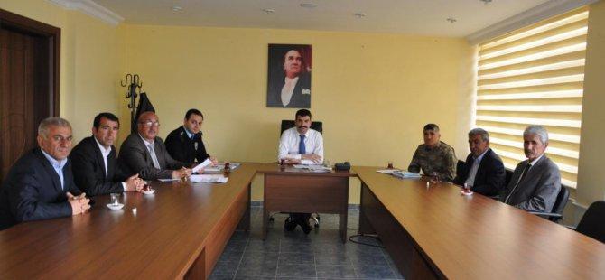 Arguvan'da seçim güvenliği toplantısı düzenlendi