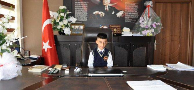Malatya'nın Arguvan ilçesinde  23 Nisan Ulusal Egemenlik ve Çocuk Bayramı