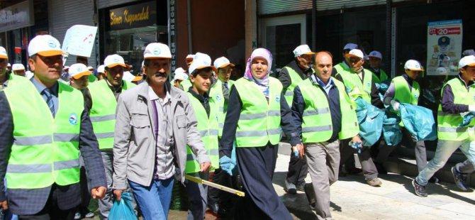 Erciş Belediyesi'nden temizlik kampanyası