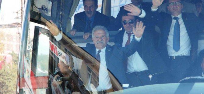 Erciş'te MHP seçim bürosu açıldı