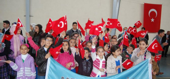 Malatya'nın Arapgir, Darende ve Arguvan ilçelerinde 23 Nisan Ulusal Egemenlik ve Çocuk Bayramı