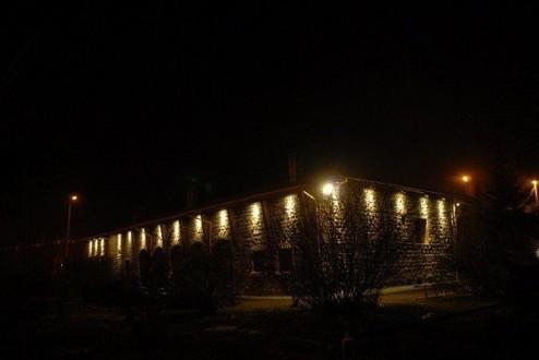 Tarihi Bina Işıklandırıldı