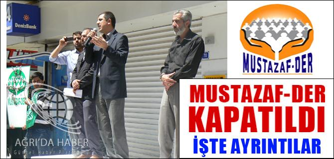 Mustazaf-Der RESMEN KAPATILDI!