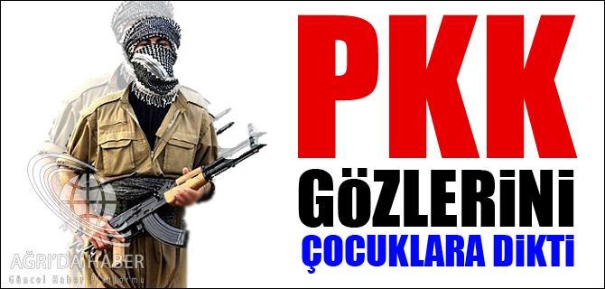 PKK GÖZLERİNİ ÇOCUKLARA DİKTİ!