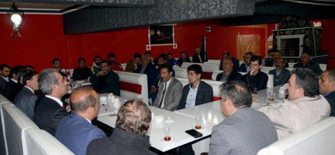 Sarıkamış Kaymakamı Gürbüz, STK temsilcileriyle görüştü