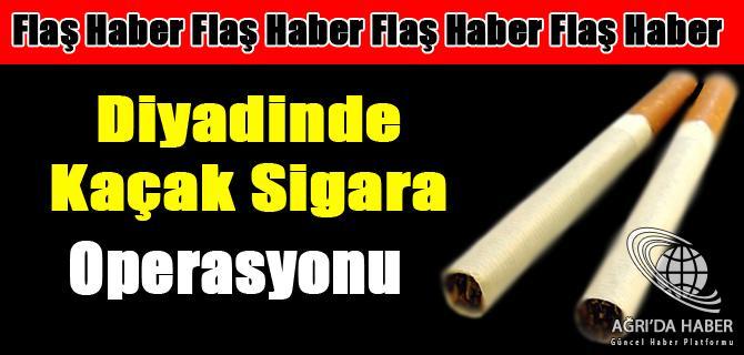 Diyadinde 15000 Paket Kaçak Sigara Ele Geçirildi.