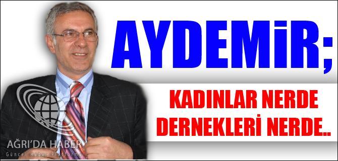 KADINLAR NERDE DERNEKLERİ NERDE