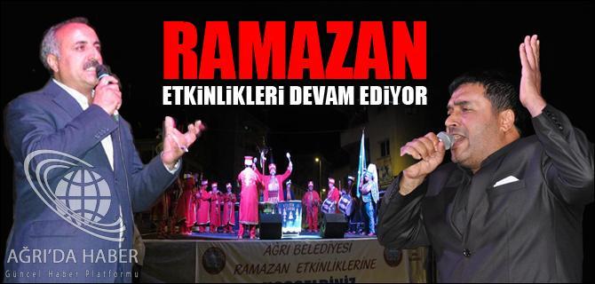 RAMAZAN ETKİNLİKLERİ DEVAM EDİYOR