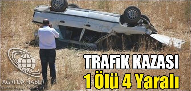 PATNOSTA TRAFİK KAZASI 1 ÖLÜ 4 YARALI
