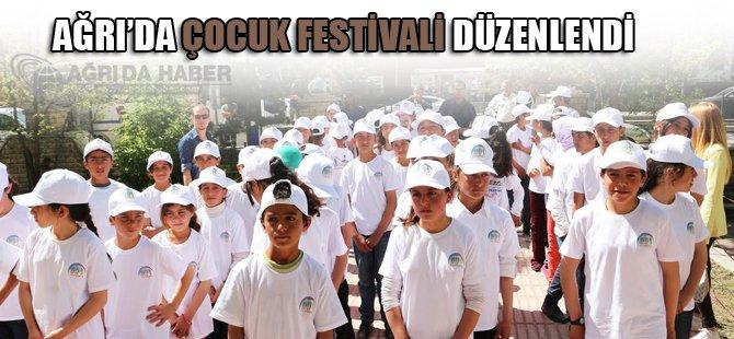 Ağrı'da Çocuk Festivali Düzenlendi
