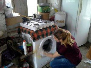 Arpaçay'da yaşlılara evde bakım hizmeti