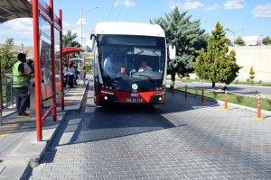 Malatya'da trambüsler bir milyon 200 bin yolcu taşıdı
