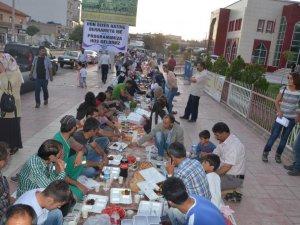 Erciş Belediyesi iftar programı düzenledi