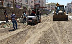 Yakutiye'de cadde düzenleme çalışmaları