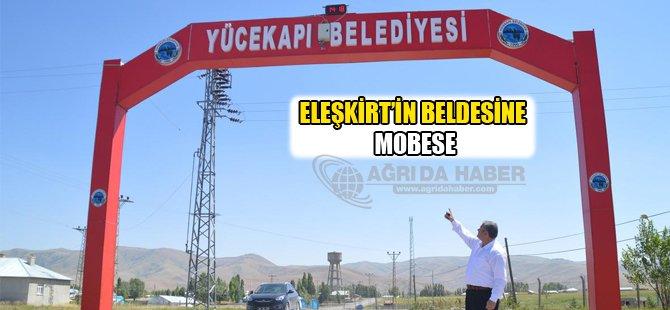 Eleşkirt Yücekapı Belde Belediyesi Mobese Taktırdı