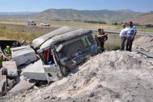 Muş'ta kaza: 1 yaralı