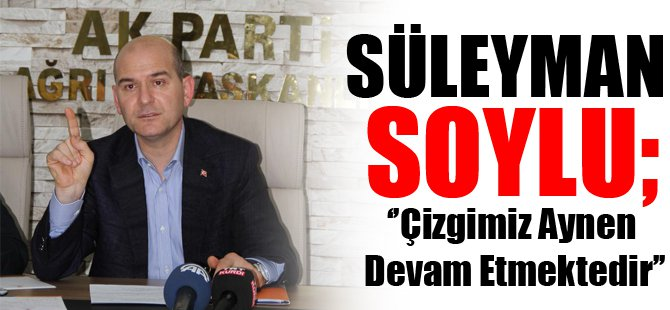 AK Parti Genel Başkan Yardımcısı Süleyman Soylu Ağrı'da...