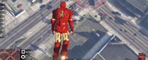 GTA 5'e Bu Zamana Kadar Getirilen En Efsane Mod: Iron Man!